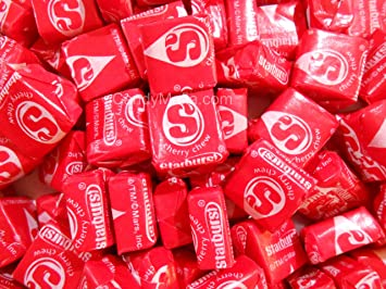 Cherry Starburst Chewy Red Starburst Candy 2lbs