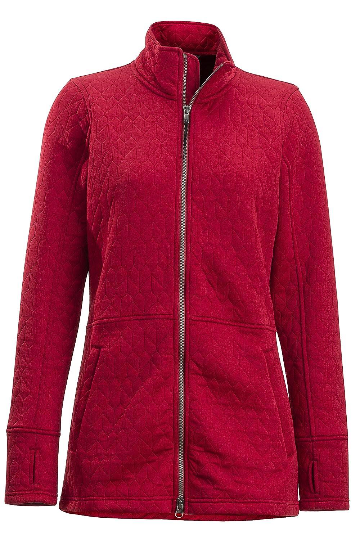 Bolero Red ExOfficio Kelowna Full Zip Hiking Apparel