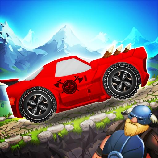 Viking Legends: Funny Car Race Game (Boy Fun Games)