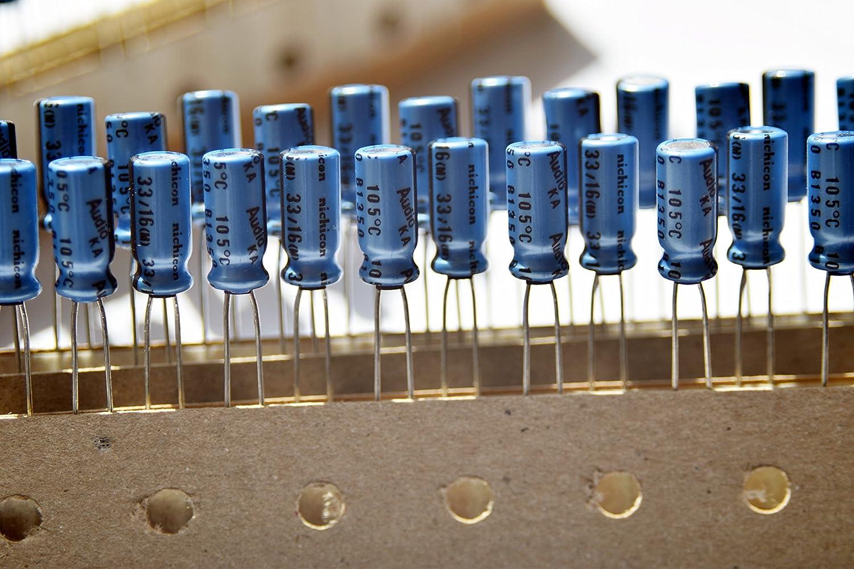 4 pcs Nichicon KA Capacitors 10V 220uf