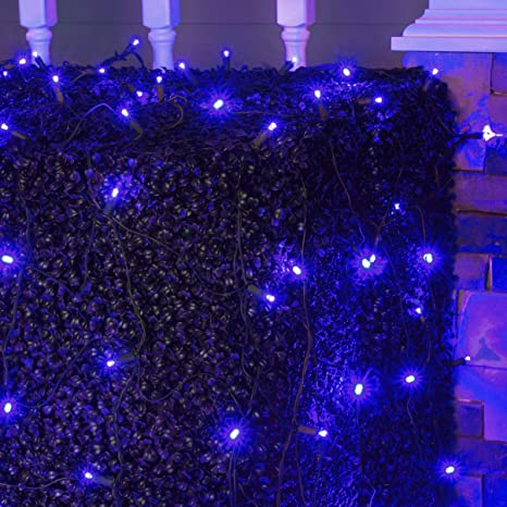 Wintergreen Lighting Led Net Lights Outdoor Led Holiday Lights Net Outdoor Decorative Lights Christmas Net Lights Hedge Christmas Lights Set Of 100
