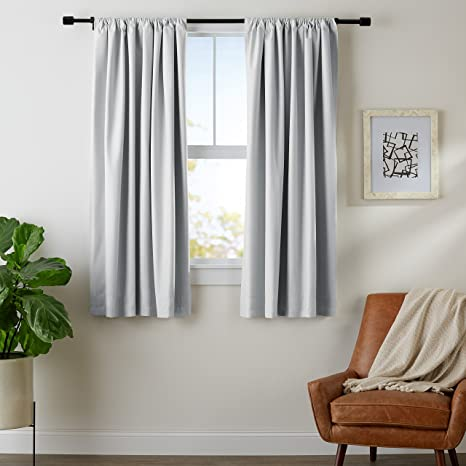 Review AmazonBasics Blackout Curtain Set