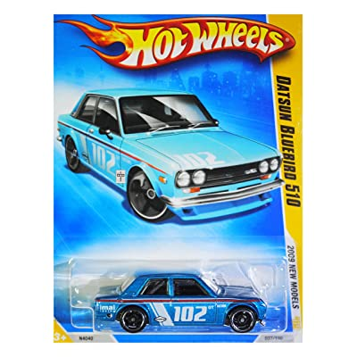 Hot Wheels 2009 New Models Datsun Bluebird 510 w/ Black OH5SPs: Toys & Games