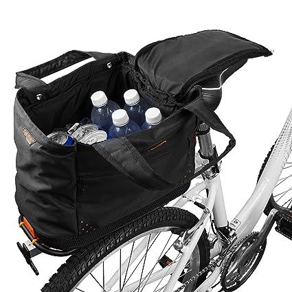 Ibera Sacoche PakRak pour porte-bagage avec syst/ème de d/étachement rapide sacoche v/élo porte bagage arri/ère