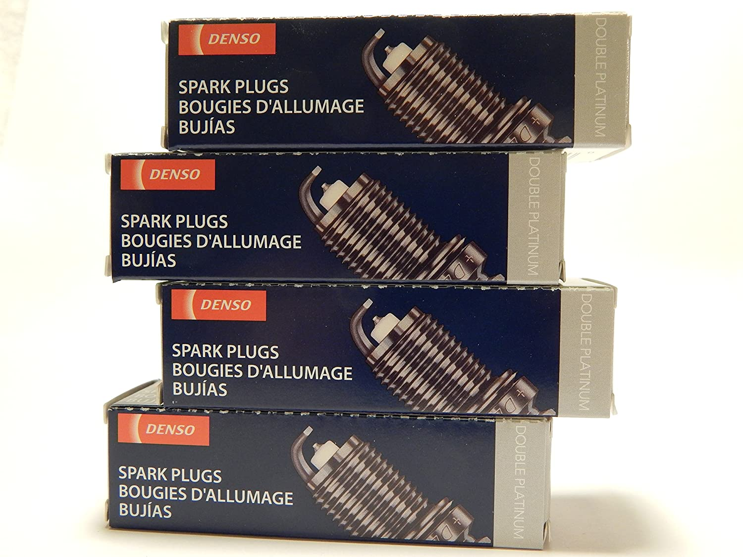 Amazon.com: 4 PCS *NEW* -- DENSO #3265 -- DOUBLE PLATINUM Spark Plugs -- PK22PR11: Automotive