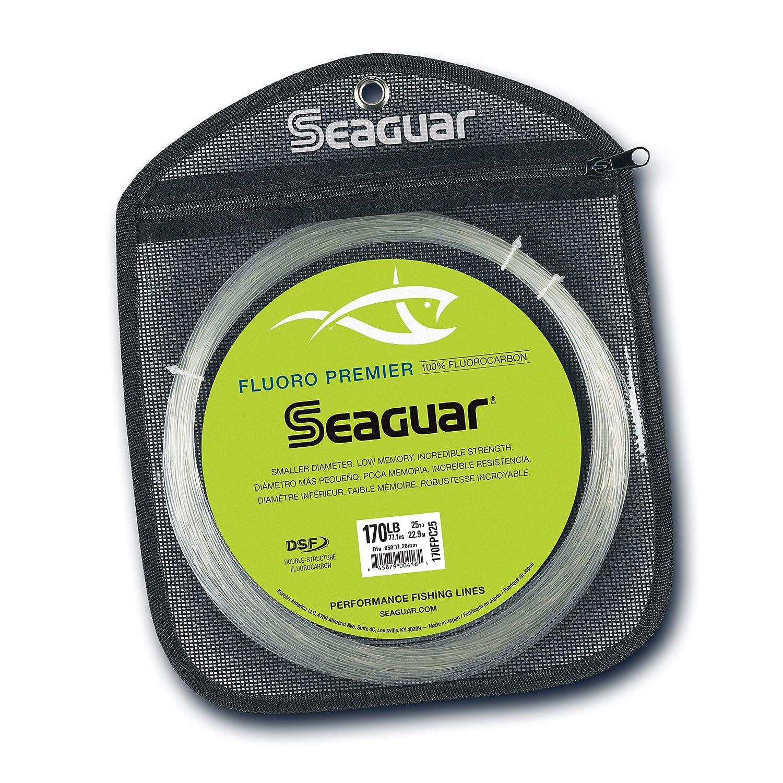 Seaguar Fluoro Premier 25-Yards Fluorocarbon Leader 170-Pounds