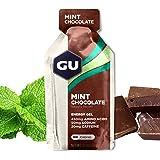 GU Energy Original Sports Nutrition Energy Gel, Mint Chocolate, 24-Count