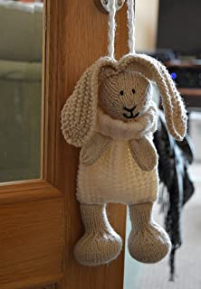 Knitting pattern quacky baggles easter gift bag amazon toys knitting pattern bunny baggles easter pattern from knitting by post negle Images