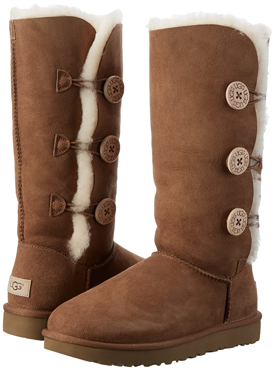 ef553efb897 Ugg Australia Bailey Button Triplet Women's Winter Boots