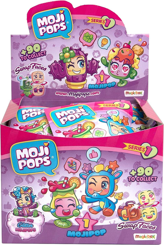 MOJIPOPS - Display de 24 figuras coleccionables MojiPops , color/modelo surtido