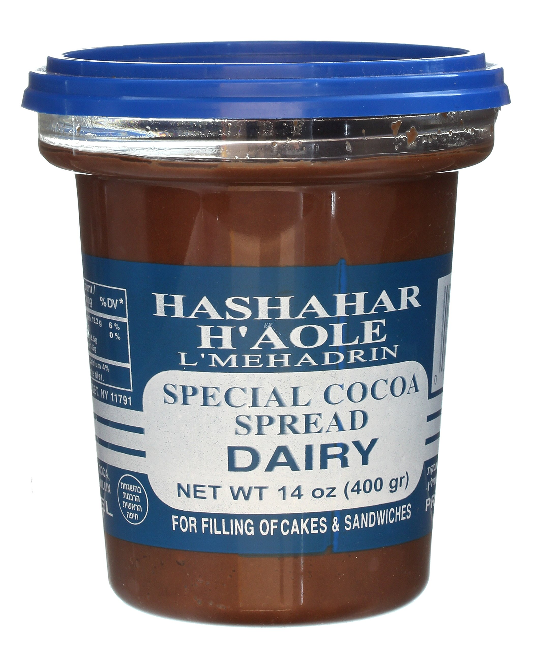 Hashahar H'Aole Special Cocoa Spread Dairy 14 Oz. Pack Of 3.