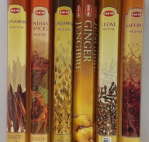 HEM Varied Christmas Collection//Assortment 5 x 20 Stick =100 Incense Sticks