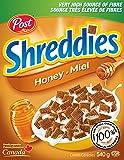 Post Honey Shreddies Cereal, 540g - Packaging may vary