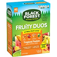 Black Forest Fruity Duos Fruit Snacks Tropical Fusion