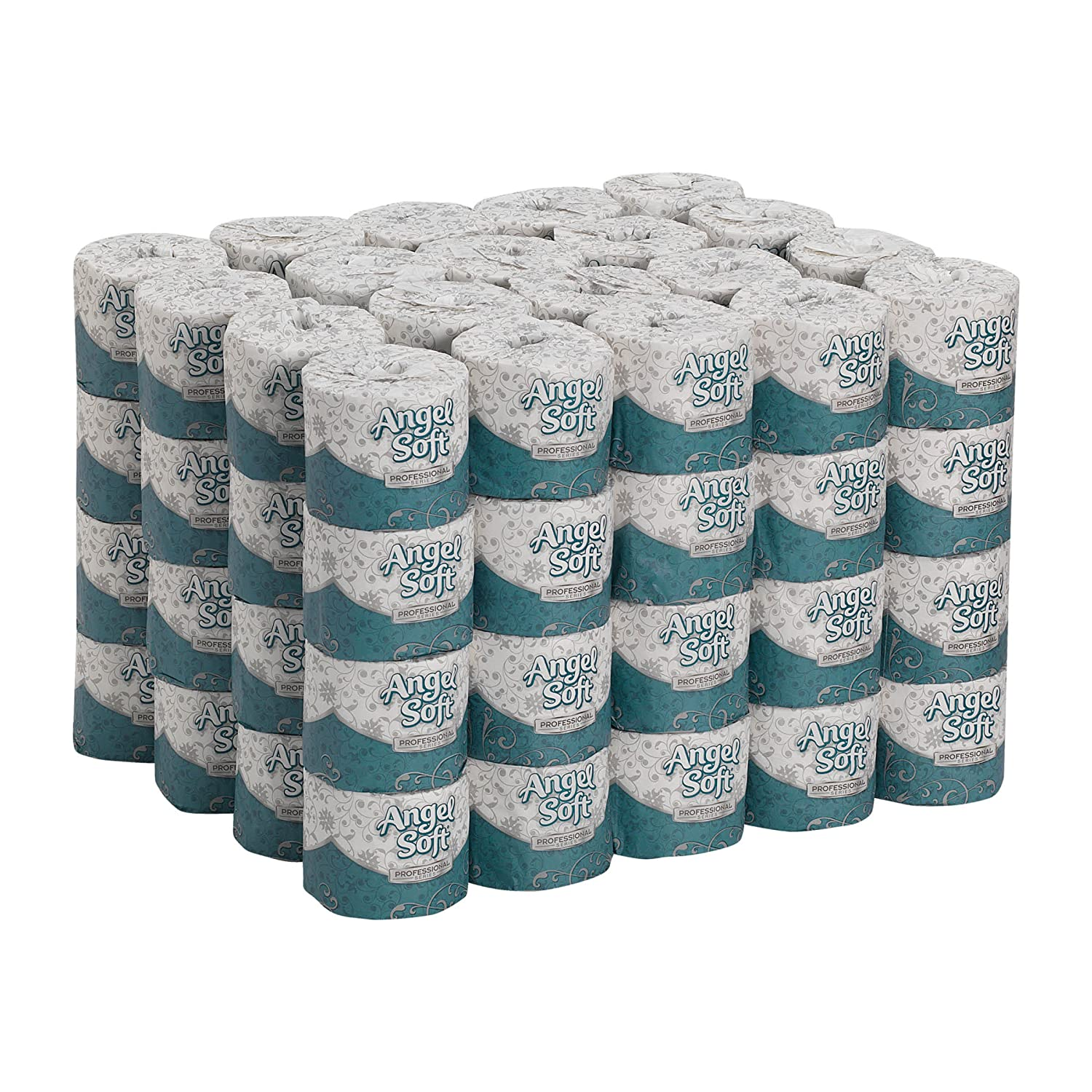 Angel Soft Professional Series Premium 2-Ply Embossed Toilet Paper by GP PRO (Georgia-Pacific), 16880, 450 Sheets Per Roll, 80 Rolls Per Case: Industrial & Scientific