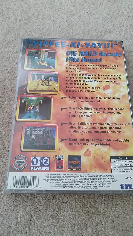 Amazon.com: Die Hard Arcade - Sega Saturn: Video Games