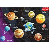 Kidz Valle Solar System 48 Pieces Tiling Puzzles (Jigsaw Puzzles, Puzzles for Kids, Floor Puzzles), Puzzles for Kids Age 4 Years and Above