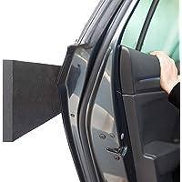 ECENCE 4X Protection de arêtes de Porte de Voiture protec des portières pour Les garages Noir de arêtes autom dans Murale Autocollantes 40x12x1,5 cm 81040406