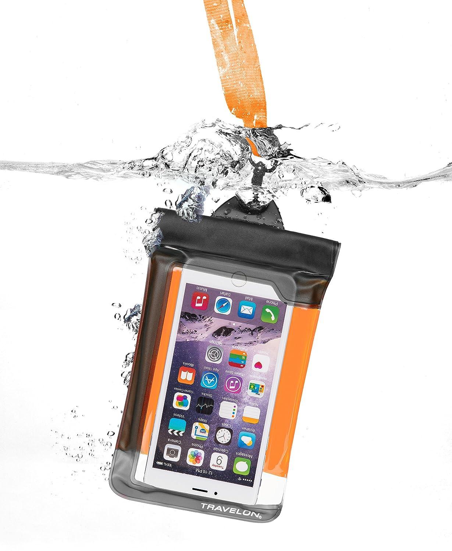 Travelon Waterproof Smart Phone//Digital Camera Pouch, Yellow, One Size 12505 85