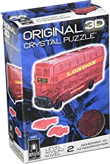 Original 3D Crystal Puzzle - London Bus