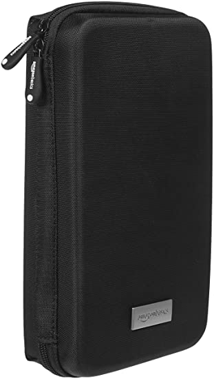 2858f083 Amazon.com: AmazonBasics Universal Travel Case Organizer for Small  Electronics and Accessories, Black: Cell Phones & Accessories