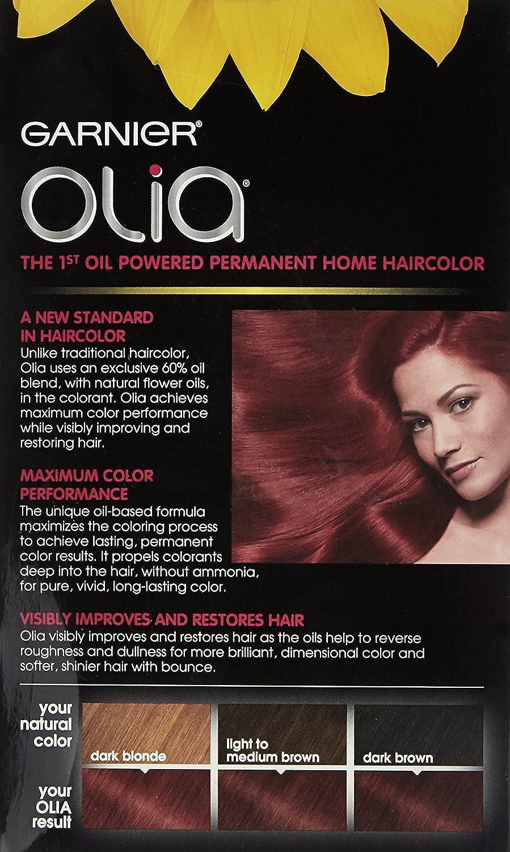 Amazon Garnier Hair Color Olia Oil Powered Permanent Hair Color