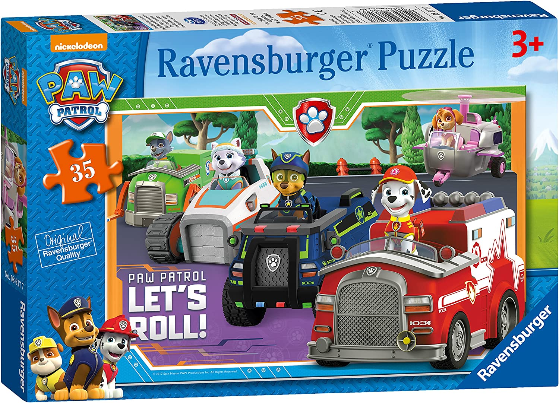 Ravensburger Kinderpuzzle 09085 Ravensburger 09085-Hilfsbereite Sp/ürnasen-Kinderpuzzle