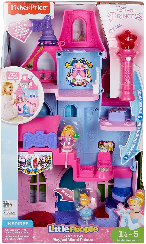 amazon com fisher price little people disney princess magical wand