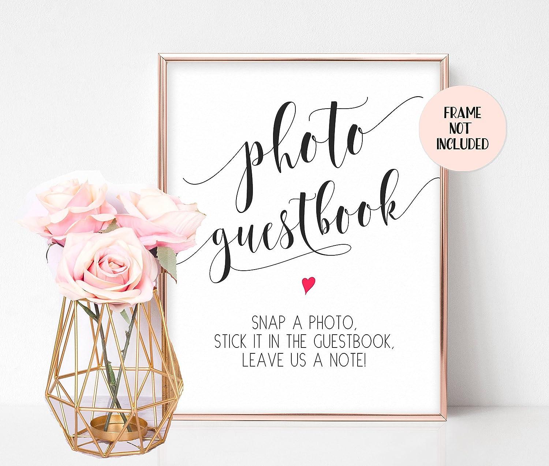 wedding sign book wedding decorations Rose gold wedding guestbook blush pink wedding Large wedding guest book lace guestbook