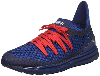 hot sales 2439a e24a4 PUMA Men s Ignite Limitless Netfit Sneaker,Blue Depths-Lapis Blue,7.5 ...