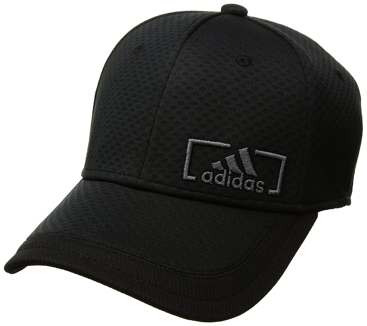 a1eb6c1fc52 Amazon.com  adidas Mens Amplifier Stretch Fit Structured Cap  Sports    Outdoors