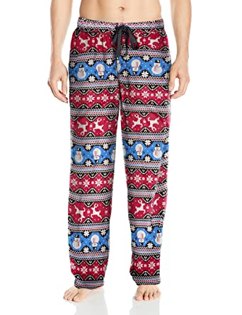 Fruit of the Loom Men's Holiday Microfleece Pajama Pant at Amazon ...