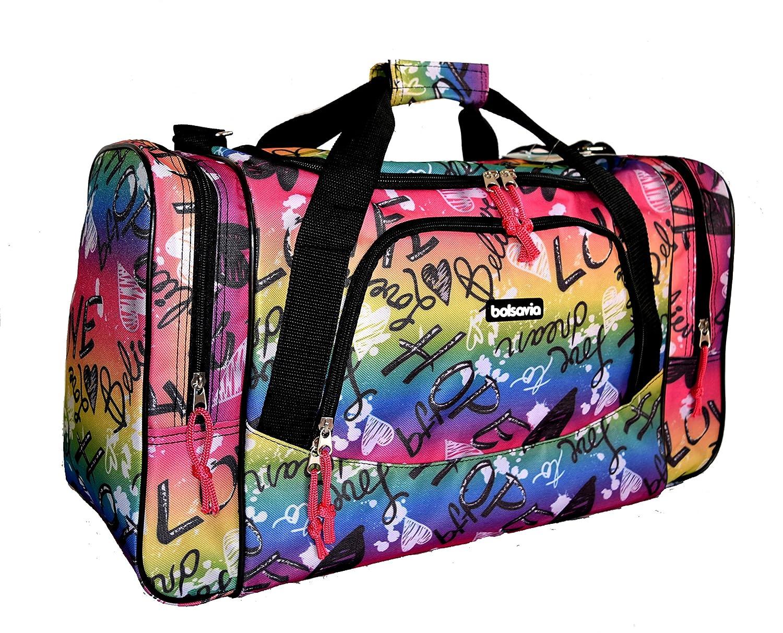 Bolsa de viaje equipaje de mano bolsa de deporte (5520 Animal)