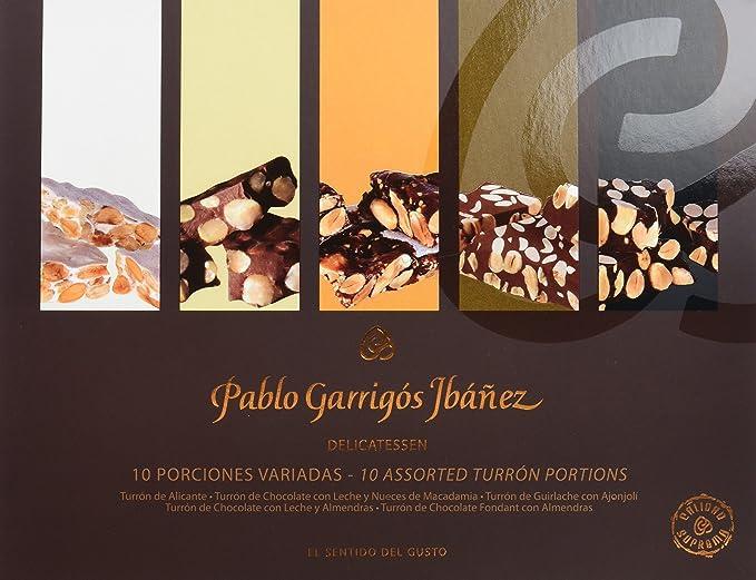 Pablo Garrigós Ibáñez Turrón - 10 Porciones