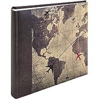 Kenro Holiday Series Memo Photo Album, Global Traveller Design, for 200 Photos
