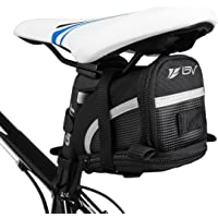 Bike Seat Saddle Bag Cycling Rear Bag Bicycle Under Seat Storage Tail Pouch