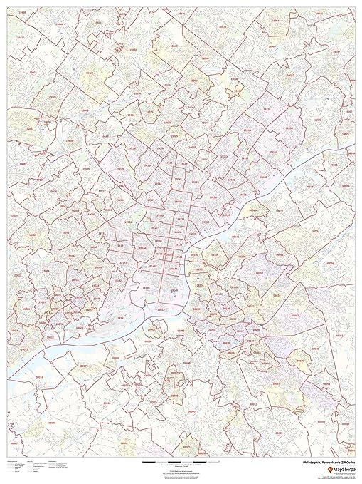Amazon.com : Philadelphia, Pennsylvania Zip Codes - 36\