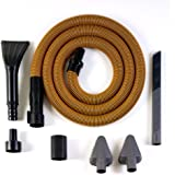 RIDGID VT2534 6-Piece Auto Detailing Vacuum Hose Accessory Kit for 1 1/4 Inch RIDGID Vacuums