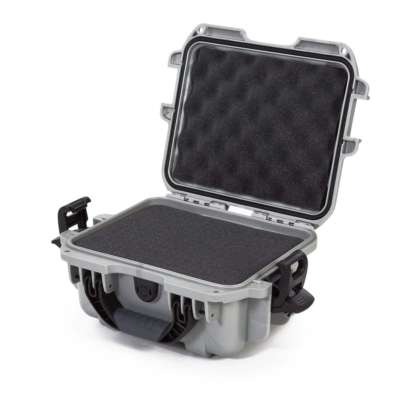 Nanuk 905 Waterproof Hard Case with Foam Insert - Silver Plasticase Inc 905-1005 CBS1504