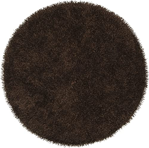 Surya VIV-805 Vivid Brown 10-Feet Round Area Rug