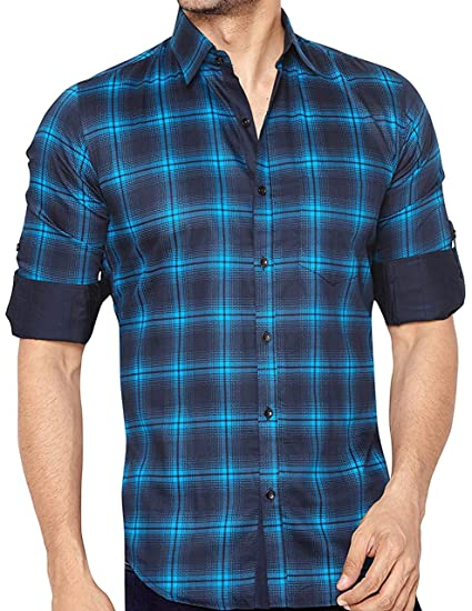 8e7ca3e09 Global Rang Men's Cotton Shirt: Amazon.in: Clothing & Accessories