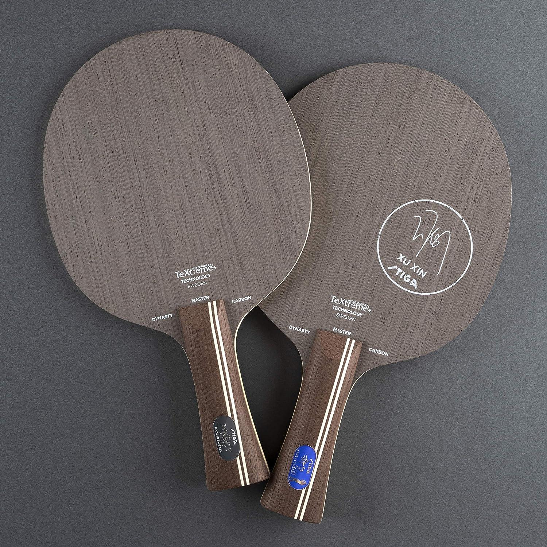 Braun One Size Stiga Sports Dynasty Carbon Master Tishtennis H/ölze