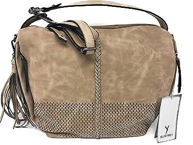 2dfe15056f21a SuriFrey Damenhandtasche Laury sand  Amazon.de  Schuhe   Handtaschen