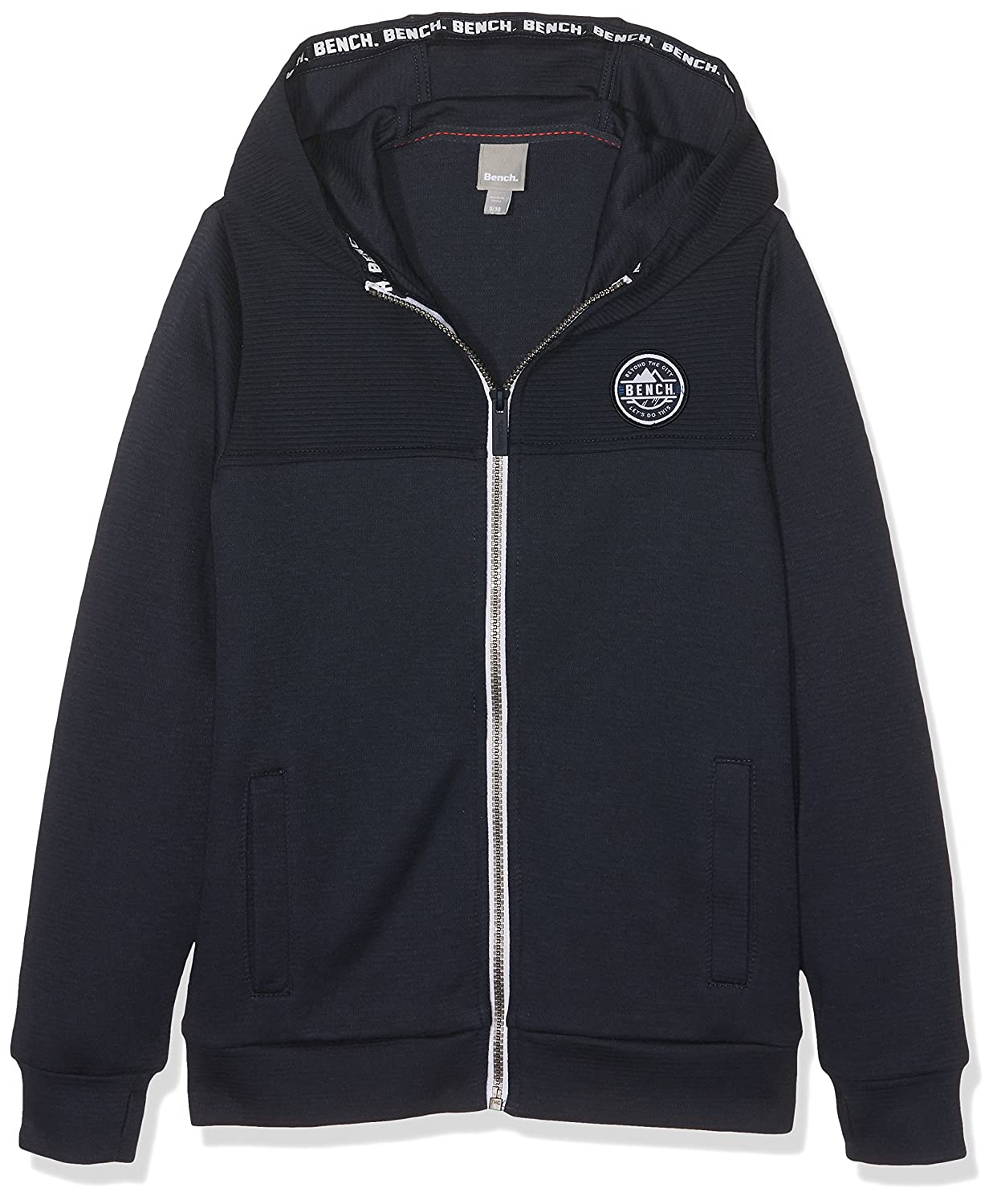 Bench Boy's Zip Thro Sweat Track Jacket BKBE001318