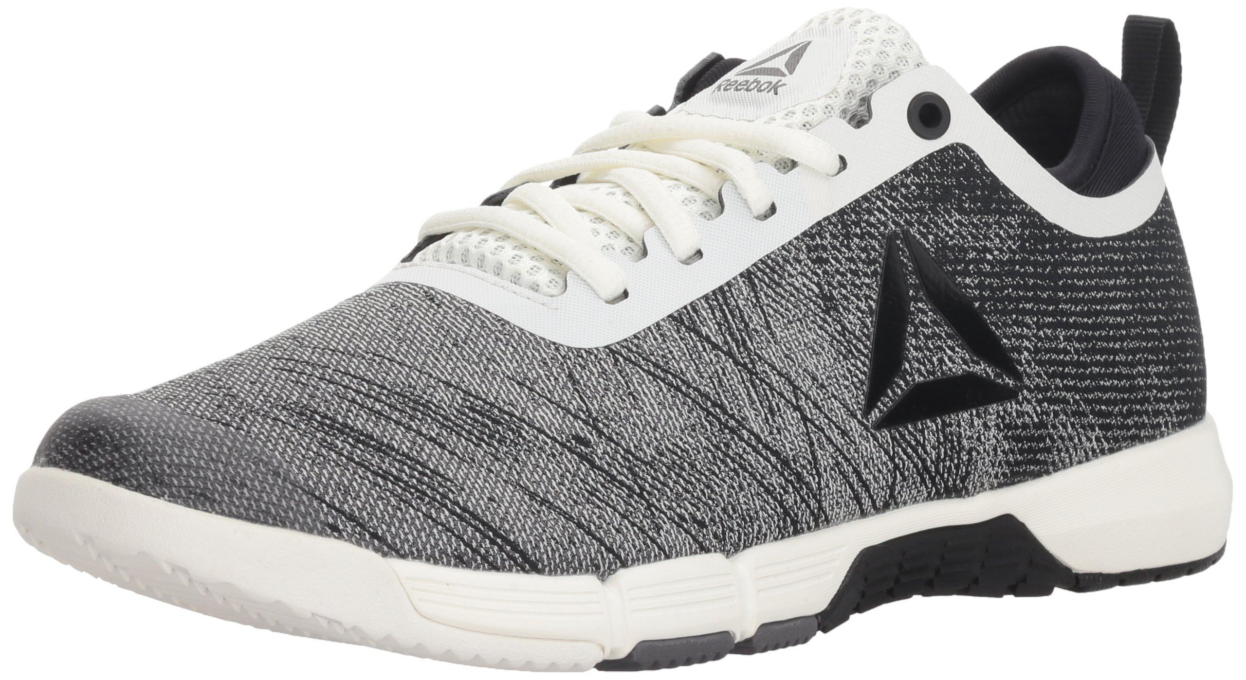 Reebok Women's Speed Her TR Cross Trainer, Chalk/Black/Ash Grey, 8.5 M US