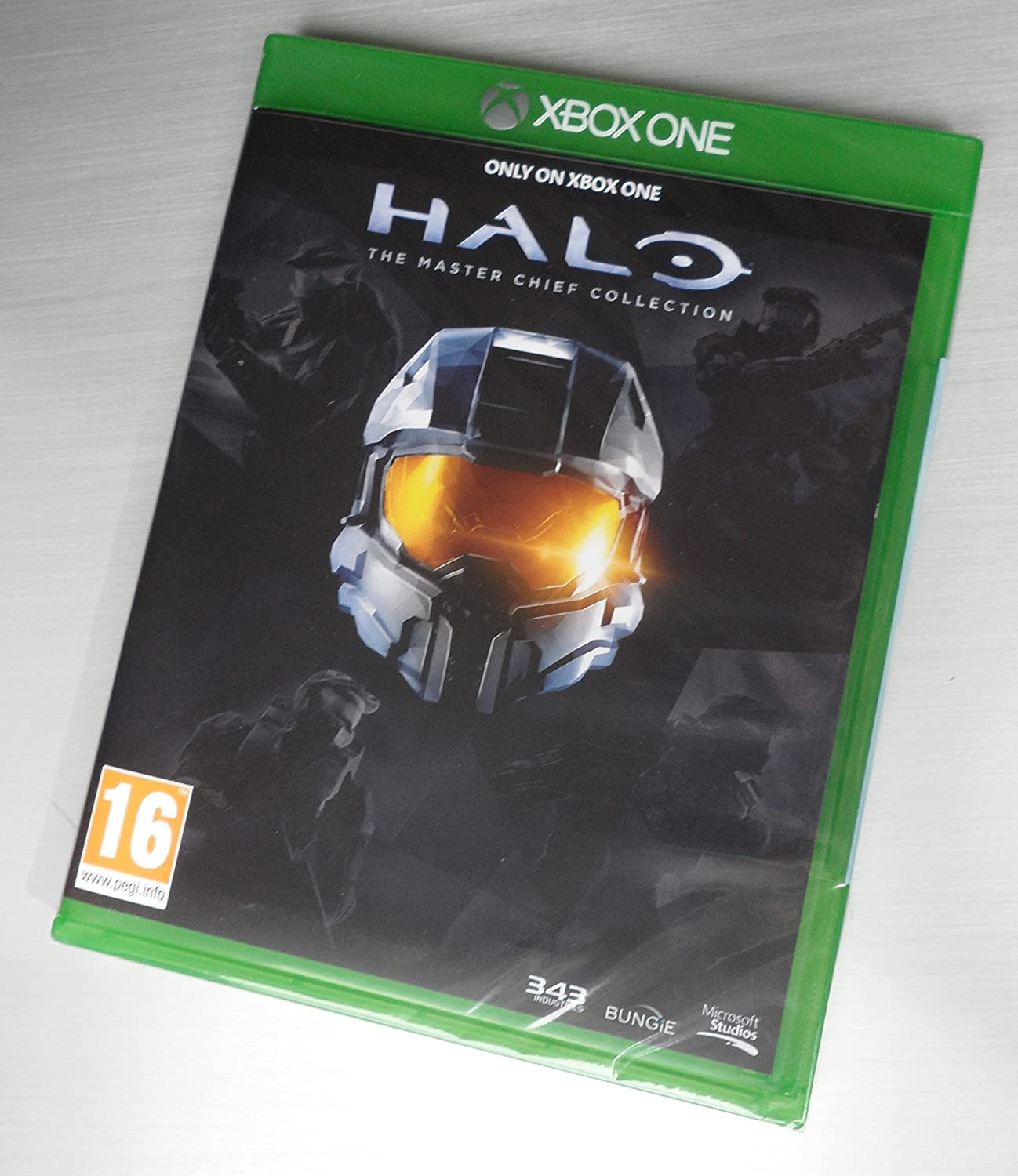 Halo the Master Chief Collection Limited Edition XBOX One Game ...