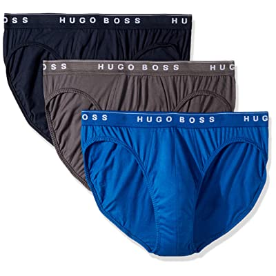Hugo Boss Men's Cotton 3 Pack Mini Brief: Clothing