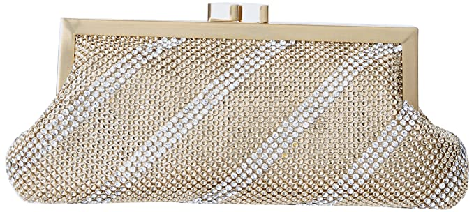 f9f25a2406 Whiting and Davis Dimple Mesh Clutch