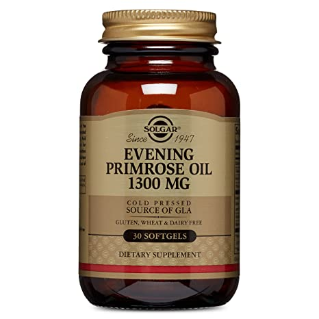 Solgar Aceite de Prímula de Rosa Cápsulas blandas de 1300 mg ...