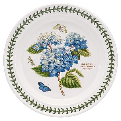 Amazon.com | Portmeirion Botanic Garden Dinner Plate Hydrangea ...